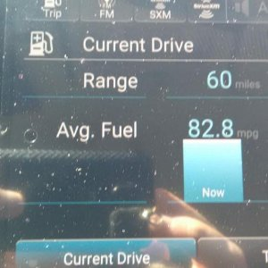 Best mpg run, about 30 miles